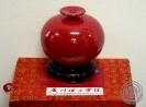 แจกันจีนสีแดง