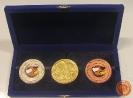 เหรียญกีฬาที่ระลึกการแข่งขันกีฬาบุคลากร 3 พระจอมเกล้า ประจำปี 2549