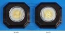 เหรียญที่ระลึก 60 ปี บรมราชาภิเษก 5 พฤษภาคม 2553 (เนื้อโลหะทองคำพ่นทราย)