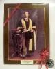 พระบรมสาทิสลักษณ์พระบาทสมเด็จพระจุลจอมเกล้าเจ้าอยู่หัว ทรงฉลองพระองค์ครุย