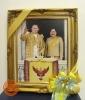 พระบรมฉายาลักษณ์พระบาทสมเด็จพระเจ้าอยู่หัวกับสมเด็จพระนางเจ้าสิริกิติ์