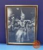 ภาพวาดการแสดงนาฏศิลป์ไทย
