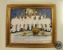 ภาพถ่ายคณะผู้บริหารร่วมถวายพระพรวันเฉลิมพระชนมพรรษา สมเด็จพระนางเจ้าสิริกิติ์ ฯ 12 สิงหาคม 2550