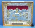 แผ่นภาพดุลโลหะและเครื่องเงิน ภาพ Swoyambhunath (Lord Buddha's Stupa) Kathmandu, Nepal