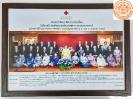 สมเด็จพระเทพรัตนราชสุดาฯ ทรงฉายพระรูปร่วมกับคณะกรรมการสภากาชาดไทย