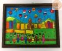 ภาพวาดที่ระลึกแสดงถึงความเป็นประชาคมอาเซียน