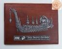 ภาพดุลโลหะและเครื่องเงิน รูปเรือพระที่นั่งสุพรรณหงส์