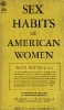 Sex habits of American women